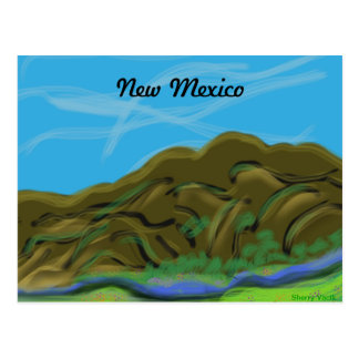 New Mexico Mountains Postcard