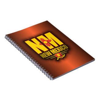 New Mexico (NM) Spiral Notebook