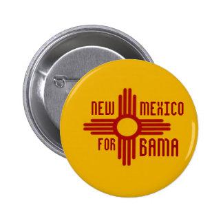 NEW MÉXICO PARA el botón de OBAMA Pins