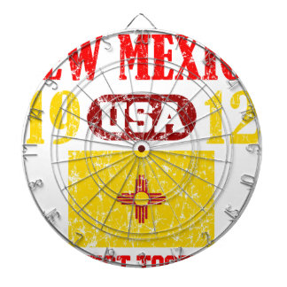 NEW MEXICO PERFECT TOGETHER DISTRESSED PRODUCTS DART BOARD