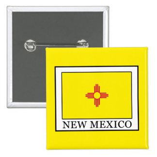 New México Pin Cuadrado