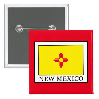 New Mexico Pinback Button
