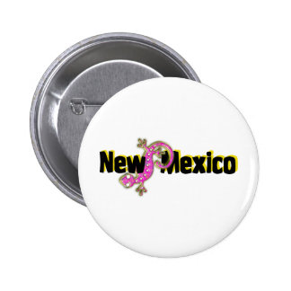 New Mexico Pink Lizard Buttons