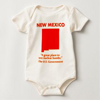 New México - probemos bombas nucleares aquí Body Para Bebé