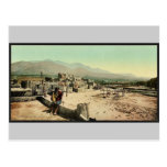 New Mexico. Pueblo de Taos classic Photochrom Postcards