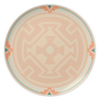 New Mexico Pueblo Design Dinner Plates