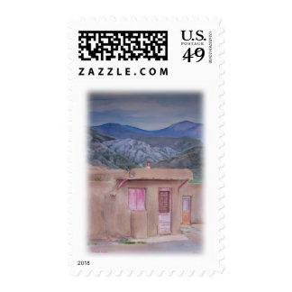 'New Mexico Pueblo' Postage