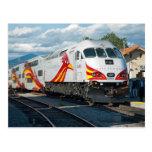 New Mexico Rail Runner Express at Santa Fe Postcard