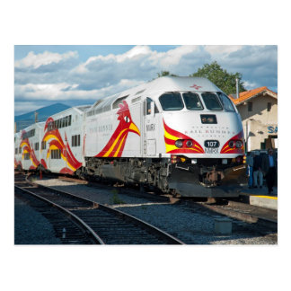 New Mexico Rail Runner Express at Santa Fe Postcard