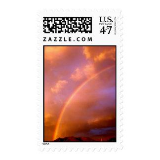 new mexico rainbow postage