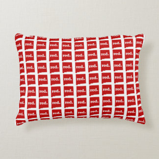NEW MEXICO RED STATE ACCENT PILLOW