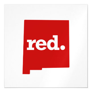NEW MEXICO RED STATE MAGNETIC CARD