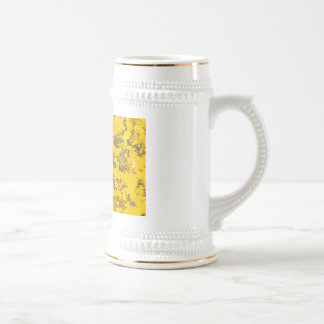 New Mexico retro washed state flag Beer Stein