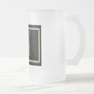 New Mexico Rig Up Camo Frosted Glass Beer Mug
