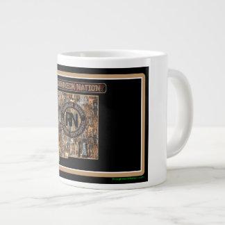 New Mexico Rig Up Camo Large Coffee Mug