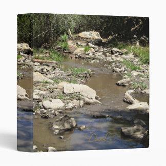 New Mexico Rio Bonito Vinyl Binder