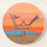 New Mexico Roadrunner Drink Coasters