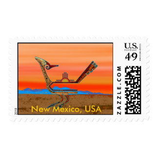 New Mexico Roadrunner Postage Stamps