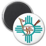 New Mexico Roadrunner Refrigerator Magnet