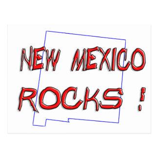 New Mexico ROCKS Post Card
