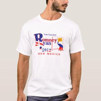 New México Romney y camiseta 2012 de Ryan 2