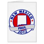 New México Ron Paul Tarjetas