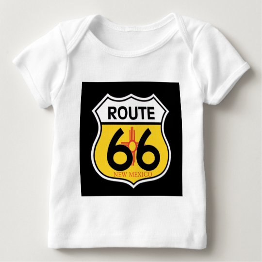 New Mexico Route 66 Shield Baby T-Shirt