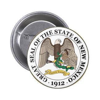 New Mexico seal Pin