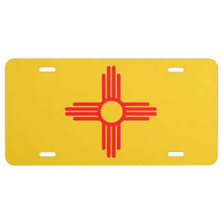 NEW MEXICO SEAL LICENSE PLATE