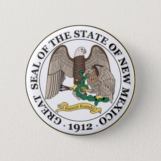 New Mexico seal Pinback Button