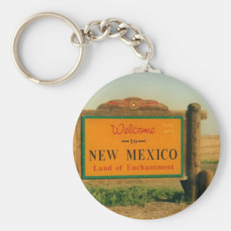 New Mexico Sign Key Chains