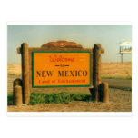 New Mexico Sign Postcard