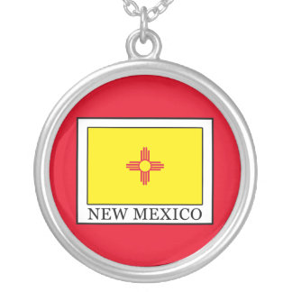 New Mexico Silver Plated Necklace