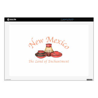 """New Mexico Decal For 17"""" Laptop"""