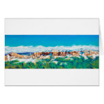 New Mexico Skyline Stationery Note Card