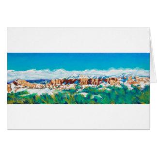 New Mexico Skyline Stationery Note Card