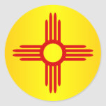 New Mexico (SP) Classic Round Sticker