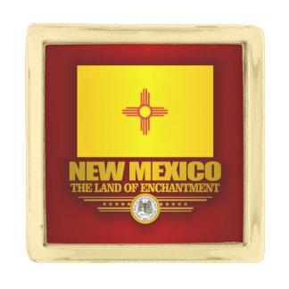 New Mexico (SP) Gold Finish Lapel Pin
