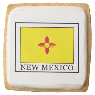 New Mexico Square Shortbread Cookie