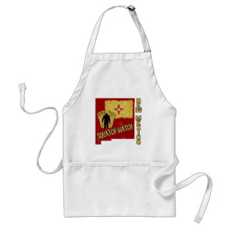 New Mexico Squatch Watch Adult Apron