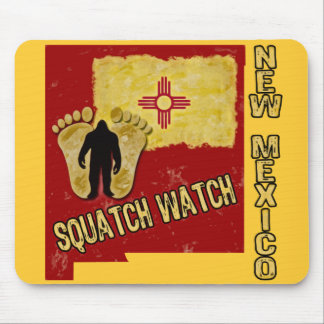 New Mexico Squatch Watch Mouse Pad