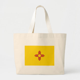 New Mexico State Flag Tote Bags