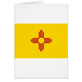 New Mexico State Flag Card