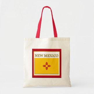 New Mexico State Flag Design Budget Canvas Bag