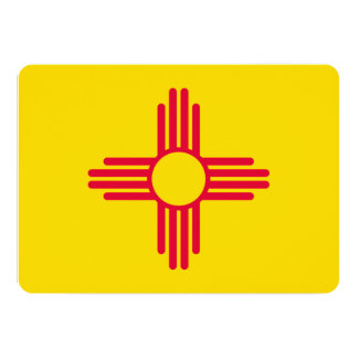 New Mexico State Flag Design Card