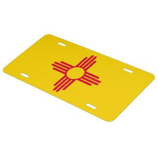 New Mexico State Flag Design Decor License Plate