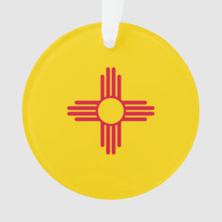 New Mexico State Flag Design Ornament