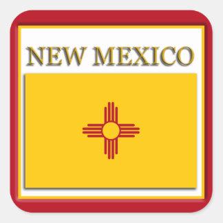 New Mexico State Flag Design Sticker