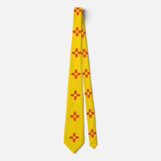 New Mexico State Flag Design Tie