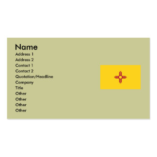 New Mexico State Flag Double-Sided Standard Business Cards (Pack Of 100)